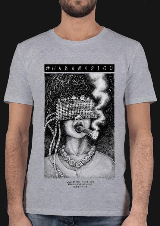 la adivina Habana2100 tshirt Mike Lorenzo