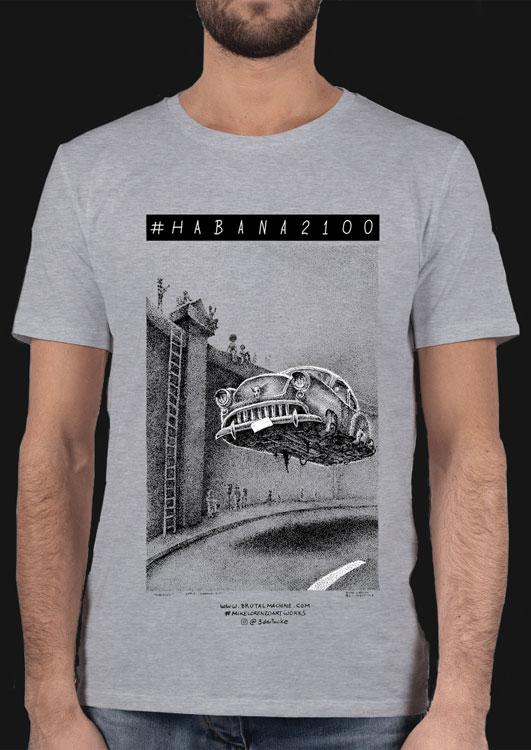 Habana año 2100 tshirt Malecón Mike Lorenzo
