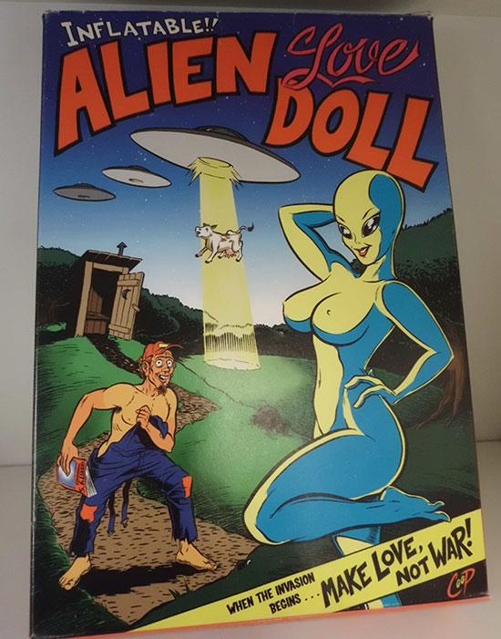 La famosa Alien Doll