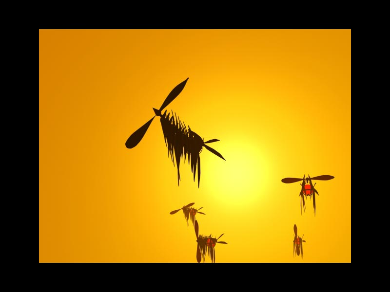 Primeros gráficos en 3d Mike Lorenzo