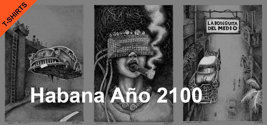 t-shirts Habana2100 Artworks Mike Lorenzo